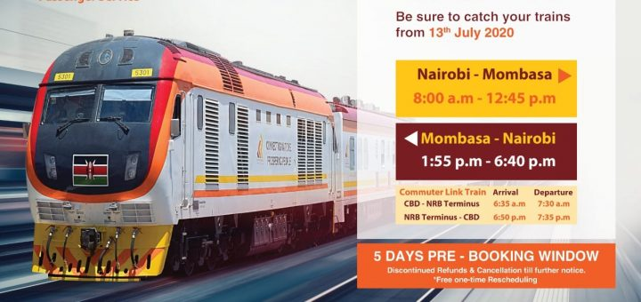 Access to the SGR Nairobi Terminus
